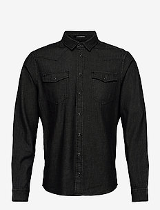 Shirt - basic skjorter - denim black