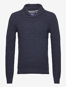 Pullover - basic knitwear - dark navy