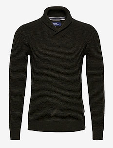 Pullover - basic strik - rosin