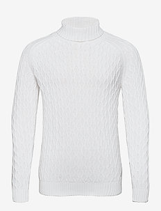 Pullover - basic knitwear - bright white