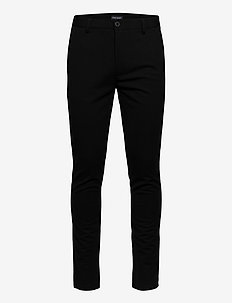 Pants - suit trousers - black