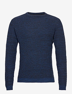 Pullover - basic knitwear - dark navy