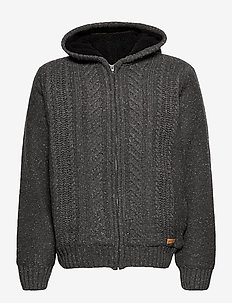 Cardigan - basic knitwear - pewter mix