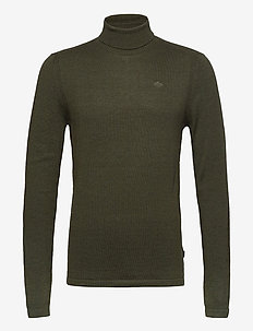 Pullover - basic knitwear - deep depths melange