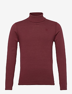 Pullover - basic knitwear - tawny port
