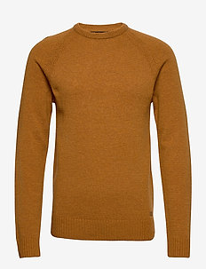 Pullover Ambitious - basic knitwear - sudan brown