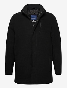 Outerwear - wool coats - black