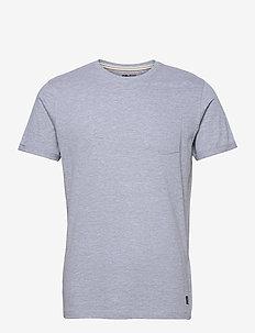 BHNASIR - Organic Tee NOOS - basic t-shirts - stone mix