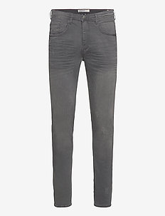Jet fit - Scratches - regular jeans - denim grey