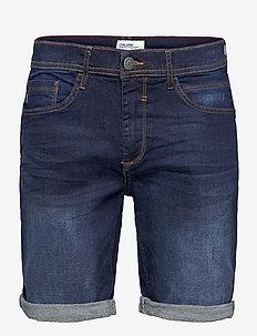 Denim shorts - Clean - jeansshorts - denim dark blue