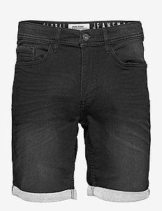 Denim Jogg shorts - jeansshorts - denim black