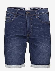 Denim Jogg shorts - jeansshorts - denim dark blue