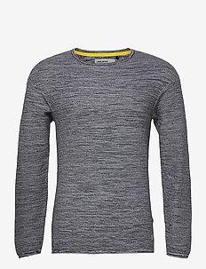 Pullover - stickade basplagg - black