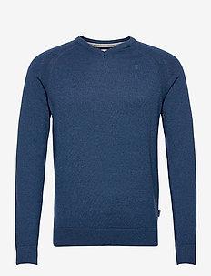Pullover - stickade basplagg - dress blues