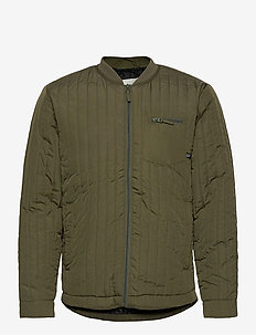 Outerwear - padded jackets - dusty olive