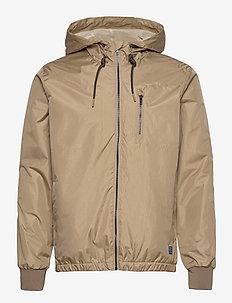 Outerwear - windjassen - lead gray