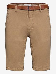 Shorts - chinos shorts - lead gray