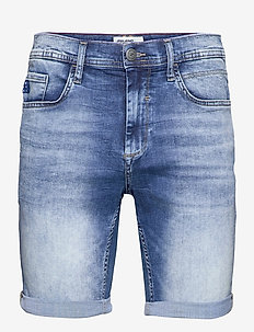 Demim shorts - Coolmax - denim shorts - denim middle blue
