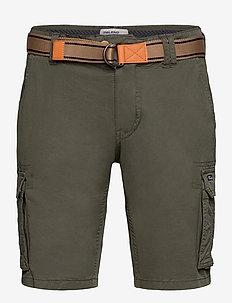 Shorts - cargo shorts - forest night