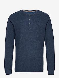 T-shirt - podstawowe koszulki - dark denim