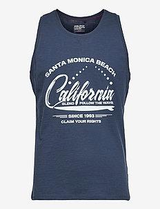 Tanktop - mouwenloze t-shirts - dress blues