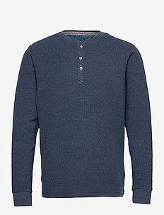 Tee - basic t-shirts - dress blues