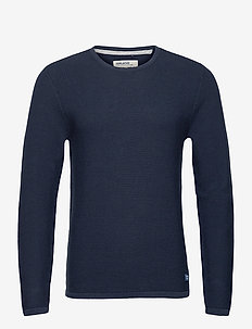 Pullover - stickade basplagg - dress blues