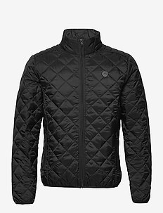 Outerwear - quilted jackets - black