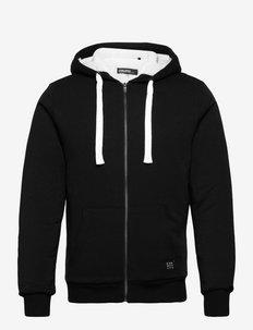 Sweatshirt - hættetrøjer - black