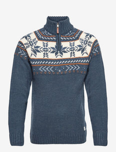 Pullover - half zip - dress blues