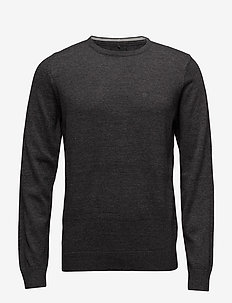 BHNIGRI KNIT PULLOVER - CHARCOAL