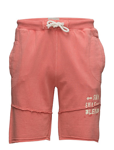 Non denim shorts - CORAL SEA RED