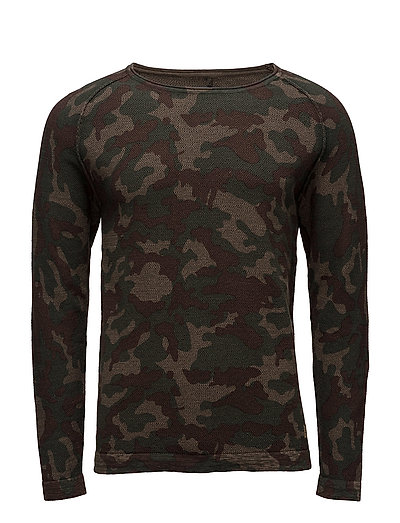 Pullover - PEAT GREEN