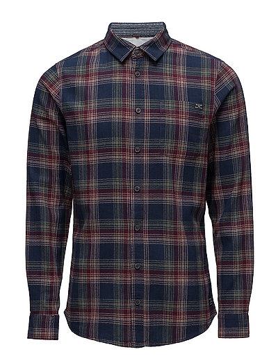 Shirt Box - WINE RED