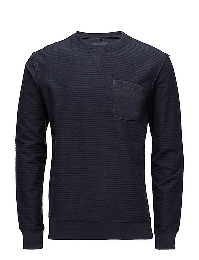Sweatshirt - DARK NAVY BLUE