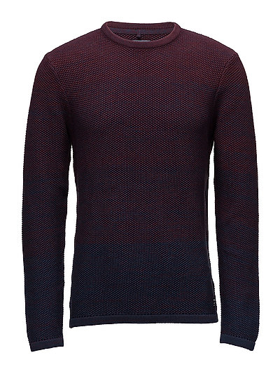 Pullover - WINE RED