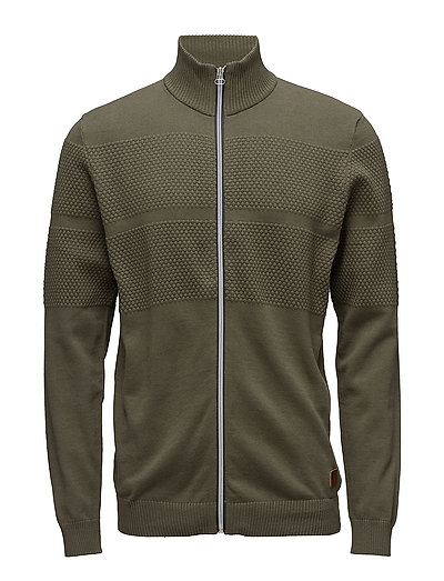 Cardigan - BURNT OLIVE