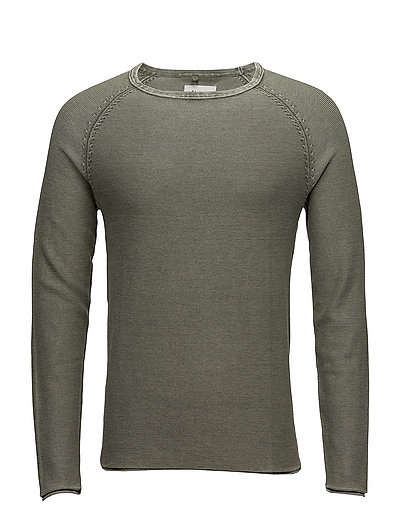 Pullover - DUSTY OLIVE GREEN