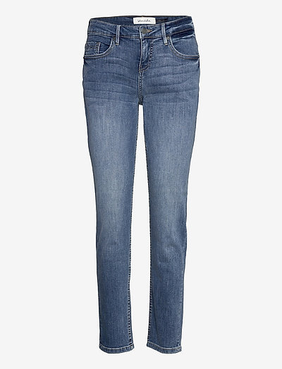 BSLIMAN CASUAL JEANS - straight jeans - med. light denim blue