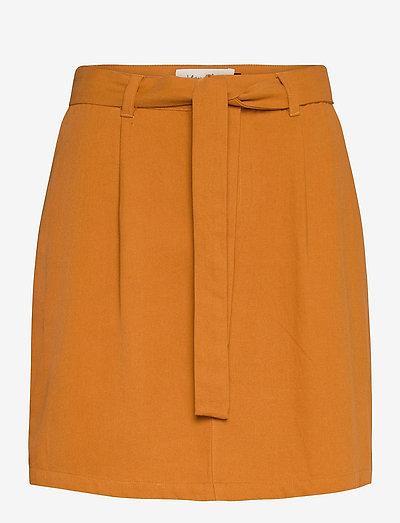 BSCALLIE R SK - korte nederdele - sudan brown
