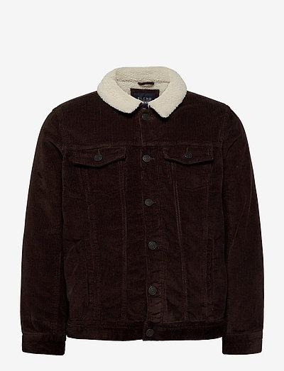 Outerwear - teddyjakker - dark earth brown