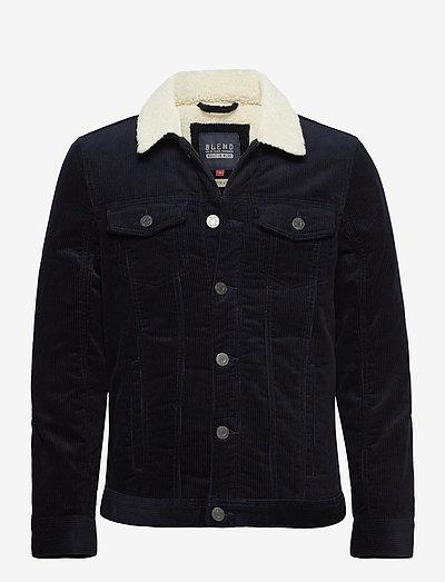 Outerwear - teddyjakker - dark navy blue