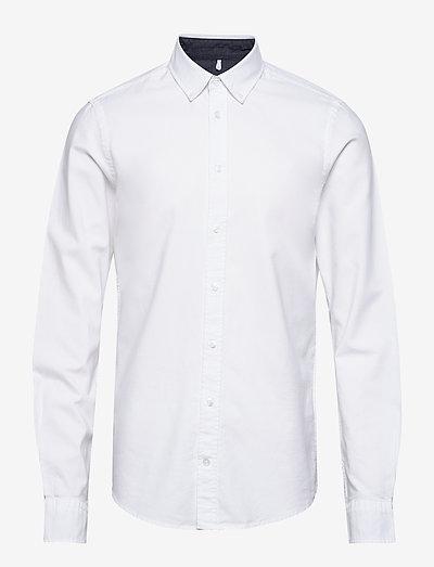 BHNAIL shirt Slim Fit - basic skjorter - white