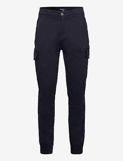 BHNAN pants - cargobukser - dark navy blue