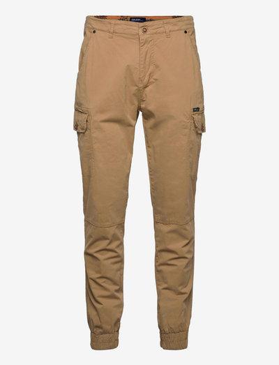BHNAN pants - cargobukser - sand brown