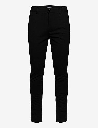 Pants - suitbukser - black