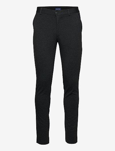 Pants - suitbukser - charcoal
