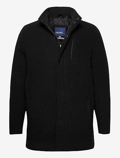 Outerwear - vinterfrakker - black