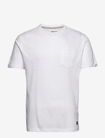 BHNASIR - Organic Tee - basic t-shirts - bright white