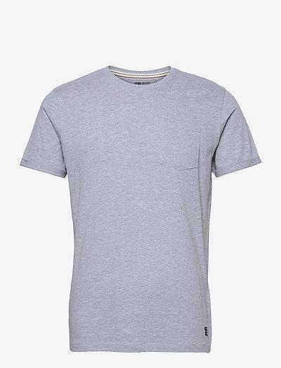 BHNASIR - Organic Tee - basic t-shirts - stone mix
